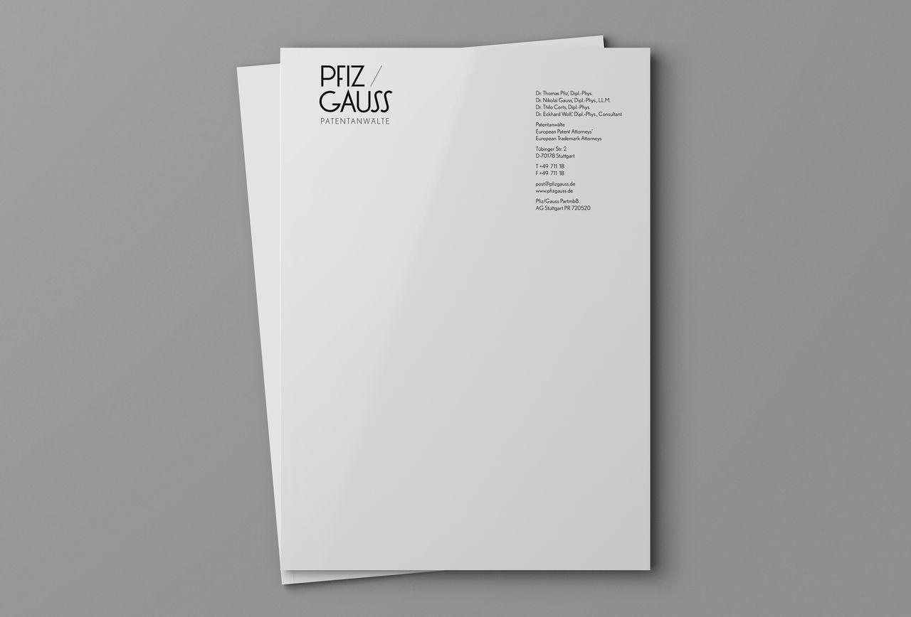 PfizGauss Patent attorneys, Studio Umlaut