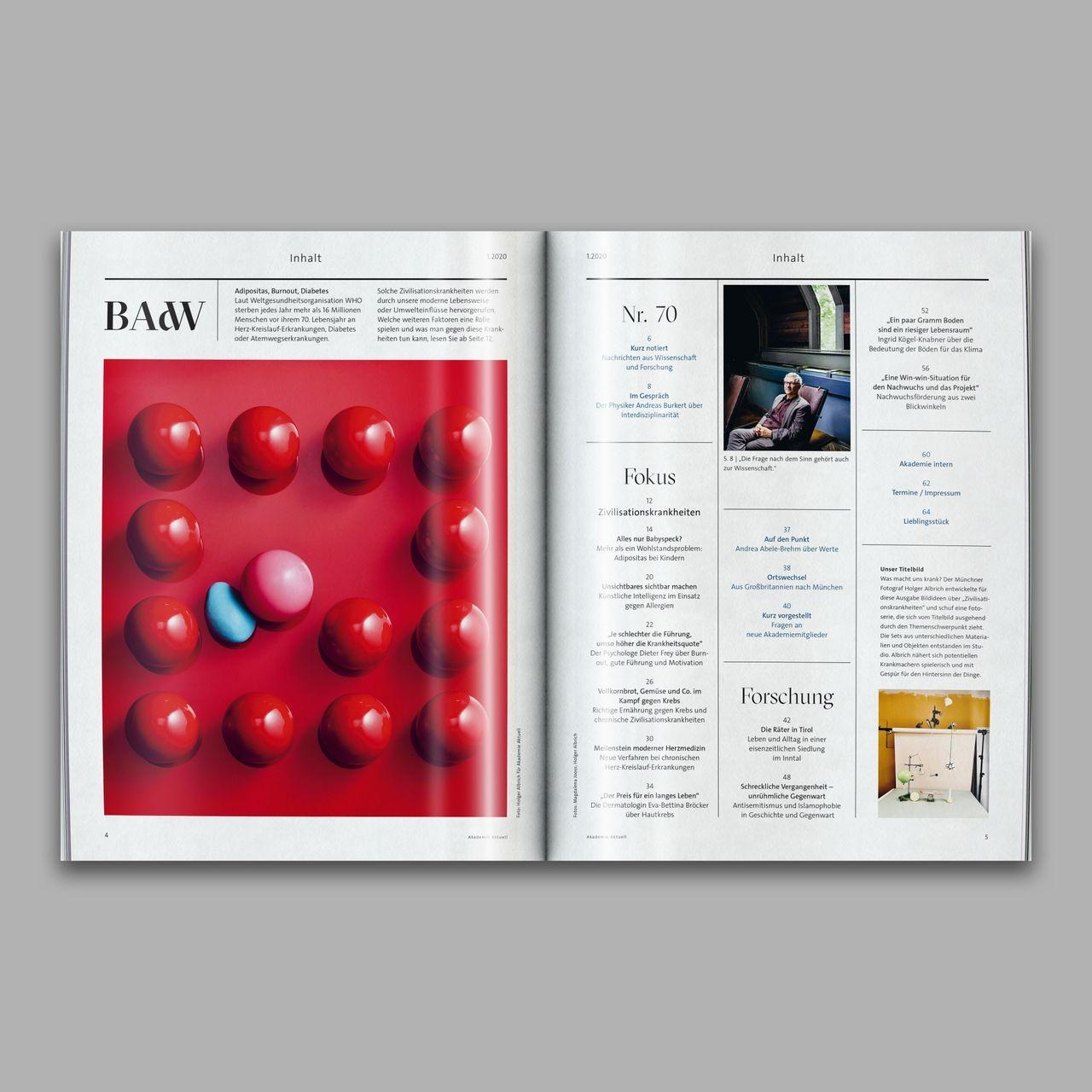 Akademie Aktuell Magazin Akademie Aktuell  1.2020, Studio Umlaut